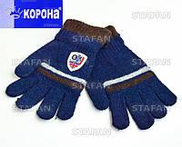 Детские шерстяные перчатки с начёсом Korona E5202-1-R