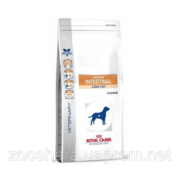 ROYAL CANIN (РОЯЛ КАНИН) GASTRO INTESTINAL LOW FAT DOG LF23 12КГ диета с ограниченным содержанием жиров для со