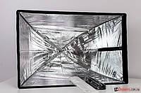 Софтбокс зонт для вспышки восьмиугольный 60 x 90см + сетка (28013-C)