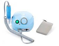 Фрезер для маникюра, комбинированого педикюра Escort 2 Pro голубой, 30-35 000 об/мин с педалью вкл/выкл