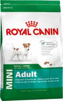Royal Canin (Роял Канин) Mini Adult 800г корм для взрослых собак мелких пород от 10 мес до 8 лет