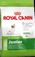 Royal Canin (Роял канин) X-Small Junior 1,5кг (для щенков миниатюрных размеров)