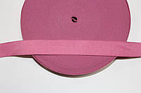 Резинка декоративная 25мм (25м) розовый , фото 1