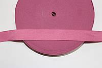 Резинка декоративная 25мм (25м) розовый
