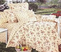 Двуспальный комплект постельного белья Розочка Прованс