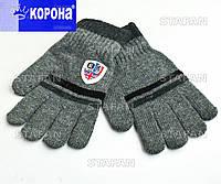 Детские шерстяные перчатки с начёсом Korona E5202-2-R