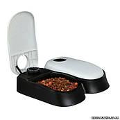 Кормушка-автоматическая для кошек двойная, Trixie TX2 Automatic Food Dispenser (24372)