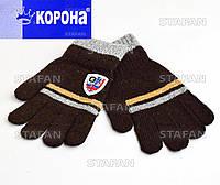 Детские шерстяные перчатки с начёсом Korona E5202-3-R