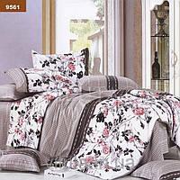 Двуспальный комплект постельного белья Розочка Винтаж