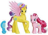 My Little Pony Принцесса Золотая Лили и Пинки Пай Friendship is Magic Cutie Mark Magic Princess Gold Lily & Pinkie Pie Figure 2-Pack