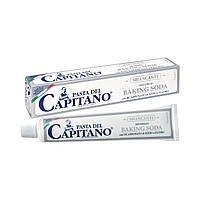 Зубная паста «Отбеливание – Baking Soda». Dottor Ciccarelli, PASTA del CAPITANO, BAKING SODA