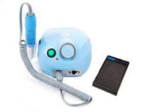 Фрезер для маникюра, комбинированного педикюра Escort 2 Pro голубой, 30-35 000 об/мин с реостатной педалью