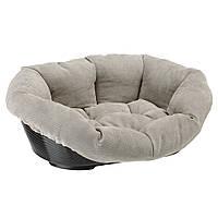 Пластиковая лежанка с подушкой для собак и кошек, SOFA' PRESTIGE.