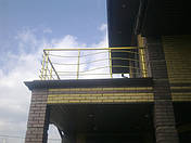 Перила алюминиевые фигурные, фото 3