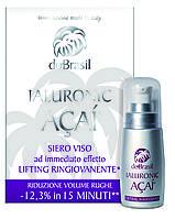 Омолаживающая сыворотка IALURONIC-ACAI ®. Do Brasil Siero Viso Lifting Ringiovanente