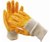 Перчатка с нитриловым покрытием