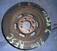 Шкив коленвала 8 ручейков демпферный ( Шкив коленчатого вала )Mazda6 2.0di2002-2007(мотор  RF5C)