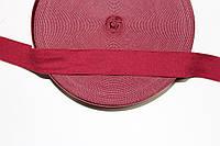 Резинка декоративная 30мм, бордовый