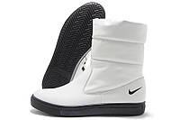 Сапоги женские Nike N1363 зимние белые (найк)