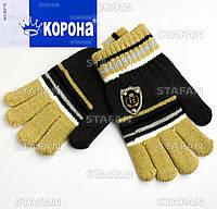 Детские шерстяные перчатки с начёсом Korona E5256-3-R