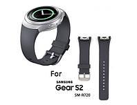 Силиконовый ремешок для Samsung Gear S2 Sports SM-R720 / SM-R730 Grey