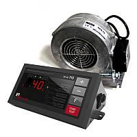 Автоматика KG SP 30 pid и вентилятор WPA 120 для управления твердотопливным котлом