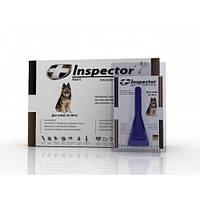 Inspector (Инспектор) капли против внешних и внутренних паразитов для собак от 25 до 40 кг (1 пипетка)