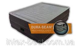Intex 64418 надувная кровать Comfort Plush 203x152x56см