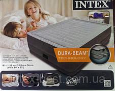 Intex 64418 надувная кровать Comfort Plush 203x152x56см, фото 2