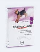 Дронтал Плюс (Drontal plus) таблетки с вкусом мяса для собак 1шт