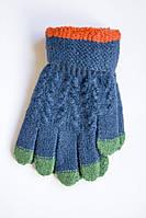 Детские зимние перчатки электрик