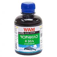 Чернила HP №21/121/122 100г Black Water-soluble WWM (H30/B-2)