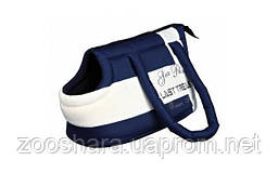 Trixie Сумка для собак и кошек Last Treasure Carrier сине-белая, 21 ? 25 ? 37 cm