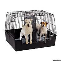 Ferplast Atlas Vision EXTRA LARGE Клетка для перевозки собак в машине, 100 x 80 x h 71 см.