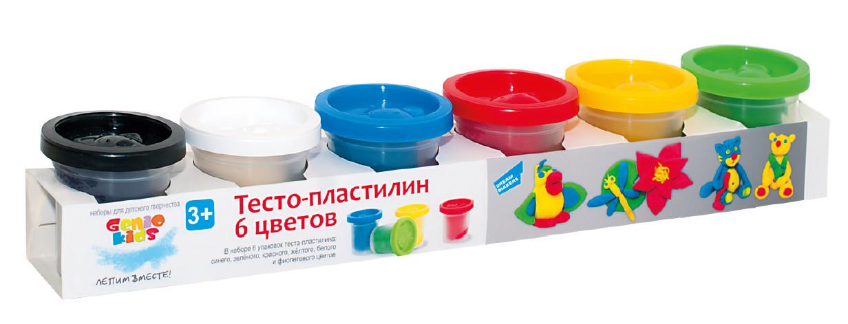 "Набор для лепки ""Тесто пластилин 6 цветов"""
