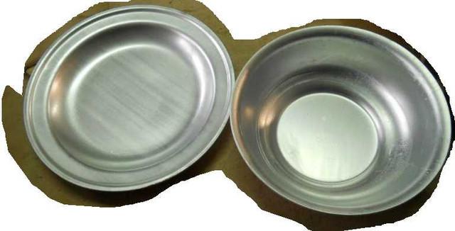 Тарелки алюминиевые