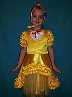 Карнвальный костюм Цыпленка для девочки