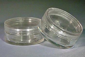 Прозрачные баночки