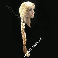Перука Одна Коса 90 см (блонд)