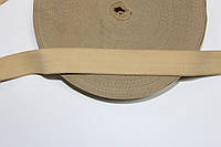 Резинка декоративная 30мм, т.бежевый , фото 1