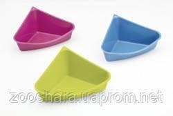 Savic РОДИ ТУАЛЕТ (Rody Toilet) угловой для кроликов и фреток, пластик , 36Х28Х15 см.