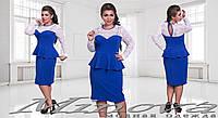 Платье р-ры 48-54 код 1031, фото 1