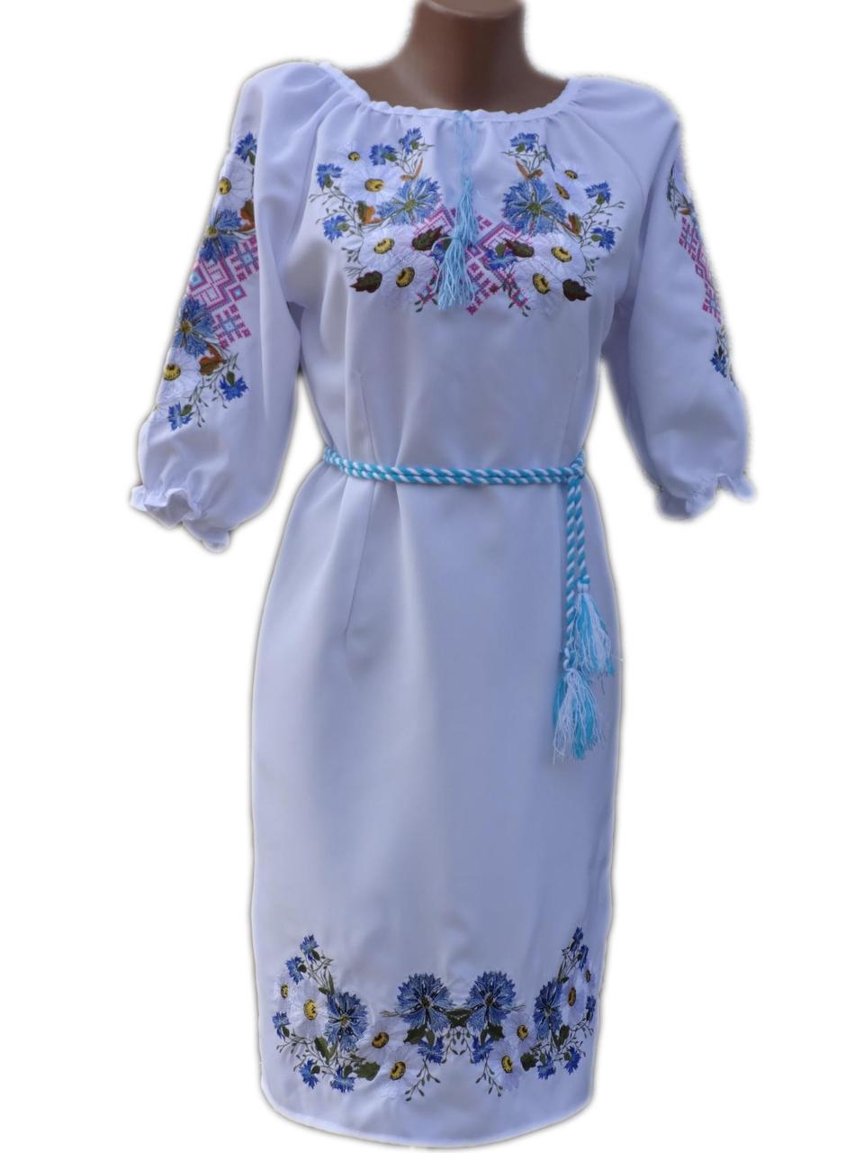 "Жіноче вишите плаття ""Керолайн"" (Женское вышитое платье ""Керолайн"") PN-0004"