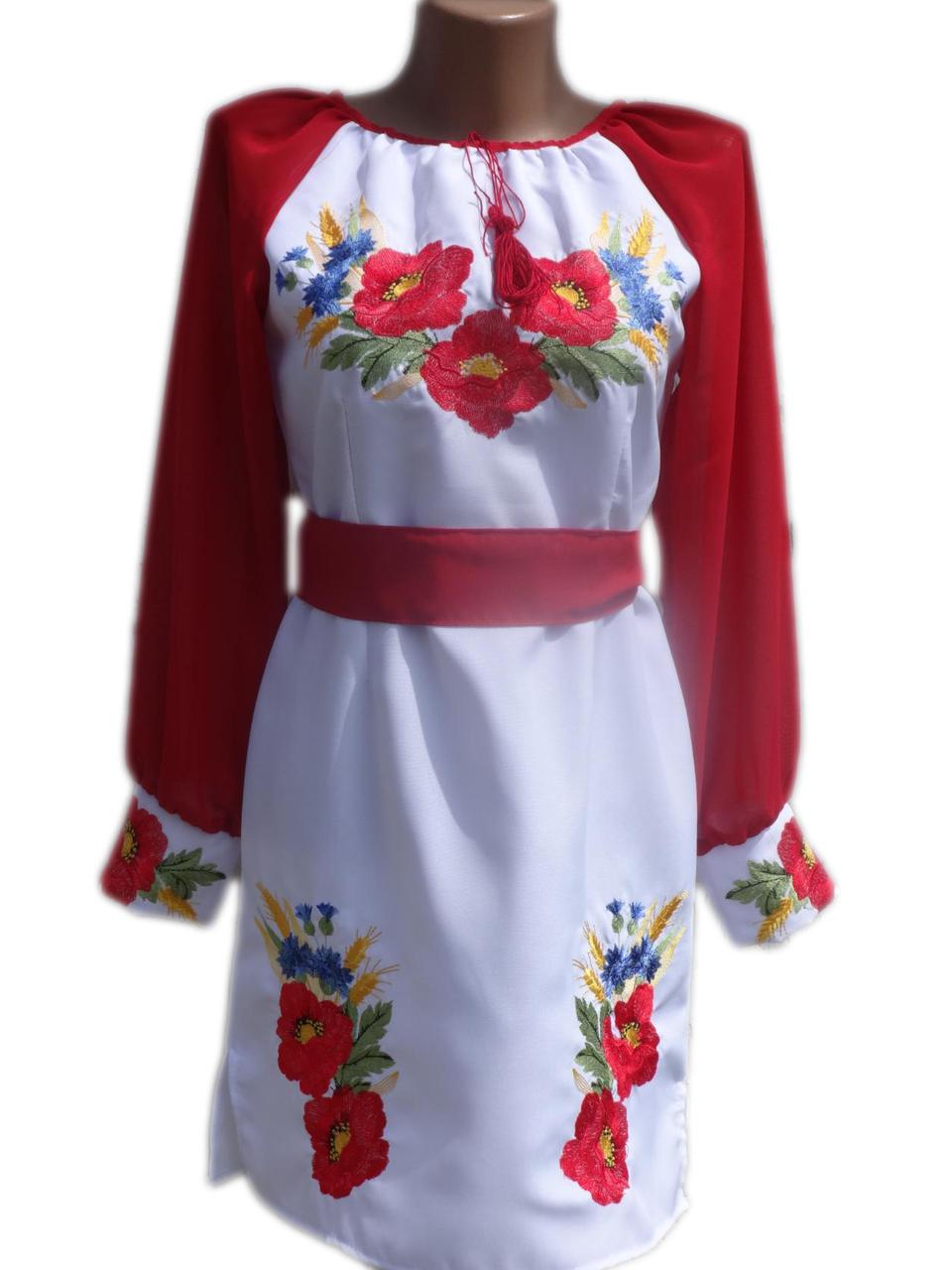 """Женское вышитое платье """"Кейли"""" PN-0006"""
