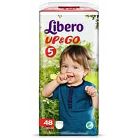 Подгузники-трусики Libero Up&Go Maxi Plus 5 (10-14 кг) 48 шт.