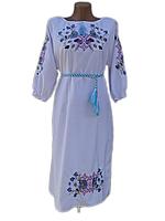 """Жіноче вишите плаття """"Ксавія"""" (Женское вышитое платье """"Ксавия"""") PN-0009"""