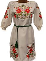 """Жіноче вишите плаття """"Маддіс"""" (Женское вышитое платье """"Маддис"""") PN-0012"""