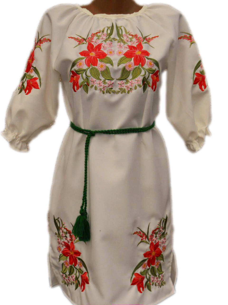 """Женское вышитое платье """"Маддис"""" PN-0012"""