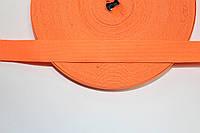 Резинка декоративная 30мм, оранжевый , фото 1
