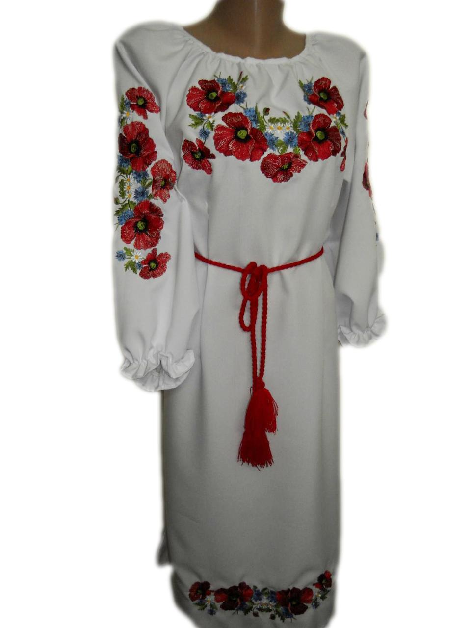 """Женское вышитое платье """"Лорена"""" PN-0016"""